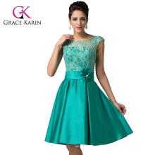 Grace Karin Sleeveless Short Knee-length Bridesmaid Dresses CL6116-1