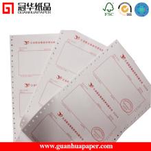 Papier d'alimentation thermique imprimé