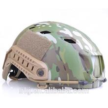 Capacete balístico à prova de balas do nível Kevlar do nível padrão NIJ dos EU do capacete balístico RÁPIDO para forças armadas