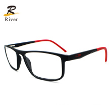 New Square Colourful Thin Temple Tr Sports Optical Eyeglasses Frames