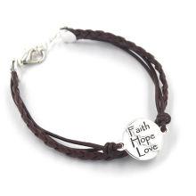 Jewellery Gift Custom Leather Bracelet Fashion Jewelry