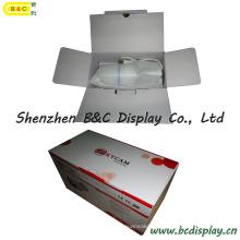 Фабрика обеспечивает непосредственно Бумажная Коробка, Цветастая Коробка упаковки с глянцевой, дешевые коробки печать (B и C-И021)