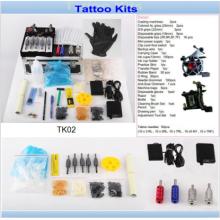 Máquinas de tatuagem profissional 2 arma, venda de Kits de tatuagem do artista