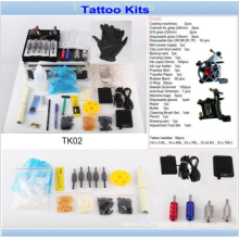 Professoinal 2 Máquinas Tattoo Gun Tattoo Kits venda para o artista