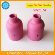 Bocal de cerâmica 57N75 para tocha de tig