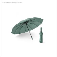 Concise Style Good Quality 3 Folding Summer Umbrella with UV Coating