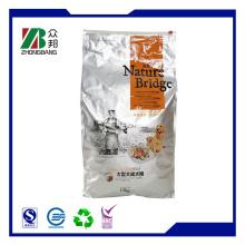 Боковой ластовичный мешок для упаковки пищевых продуктов для домашних животных (ZB198)