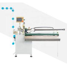 Machine de découpe automatique en zig-zag avec extracteur