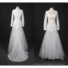 Fashion Muslim Long Evening Bridal Gown Mermaid Wedding Dress Wy7332