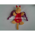 Knotted Dragon Dinosaur Plush Squeaky Bite Pet Toy