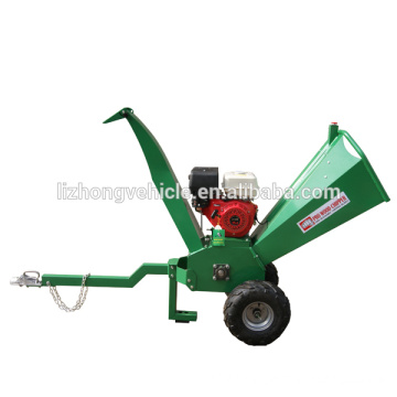 China wholesale 15hp 100mm max chipping wood chipper, industrial wood chipper, industrial wood shredder chipper