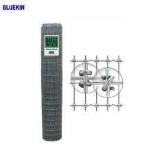 cheapest price 1.8m hot dipped galvanized grassland farm field fence Woven Cattle Welded Wire Mesh farm Fence