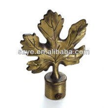 classical twisted curtain rods leaf finial round ball finial and curtain pole finials