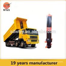 Hydraulic telescopic cylinder for tipper truck