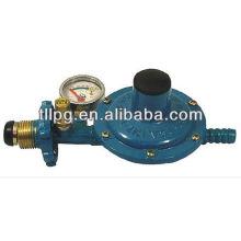 TL-808 flame-proof lpg gas regulator with pressure meter