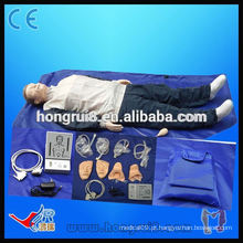 VENDAS QUENTES Manequins de treinamento de CPR de corpo inteiro médico adulto