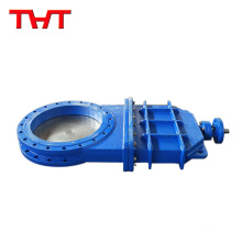 Top selling ductile iron resilient seated knife gate valve dn1000