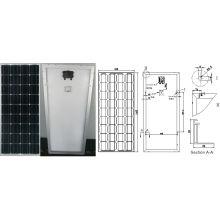 Módulo monocristalino de PV del panel solar de 18V 90W 100W con Ce aprobado