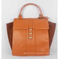 Guangzhou Supplier Fashionable Genuine Leather Lady Handbag Bag (191)