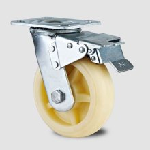 Rouleau en nylon à frein à pédale à double pédale de type lourd (KHX3-H3-A)