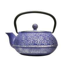 Alte holländische Osaka Gusseisen Teekanne