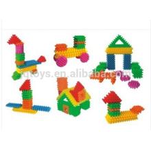 2016 animales bloques de construcción de plástico juguetes para niños