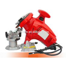 New Arrival GS CE EMC ROHS 100mm 250w Magnesium Base Electric Chainsaw Sharpener Electric Chain Grinder