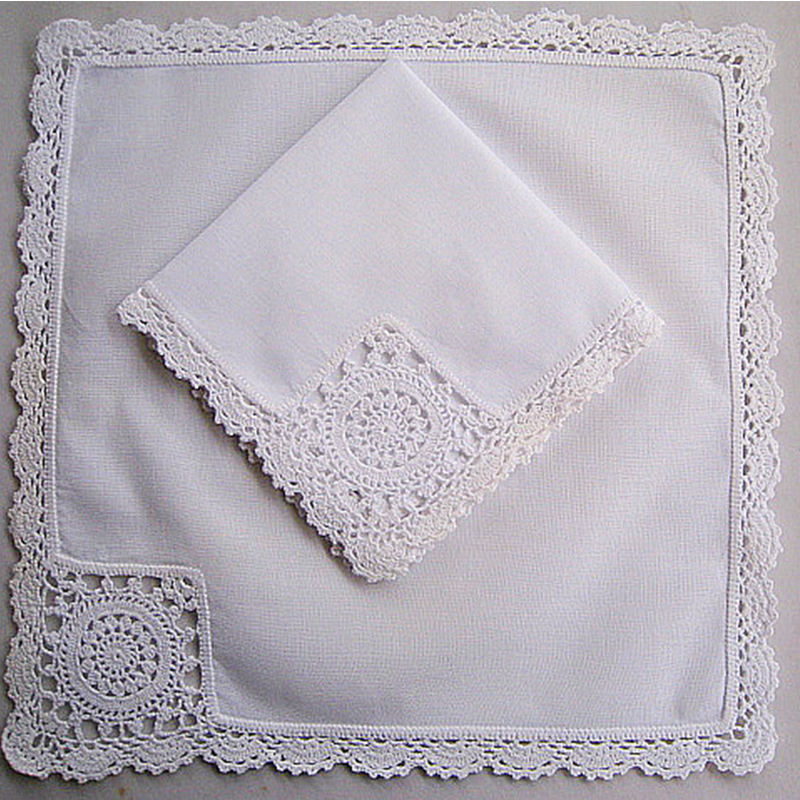 White Hankies Embroidery