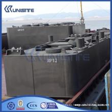 Flotador pontón para dragado para la construcción marina y dragado (USA1-023)