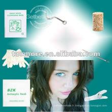 Vis d'ancrage professionnel nez Sprout Stud de nez avec bijou de 2mm clair