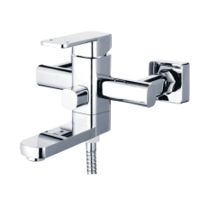 Single cold brass basin bathtub spout