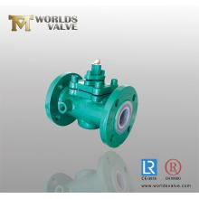 PFA полностью облицованная Plug клапан (WDS)