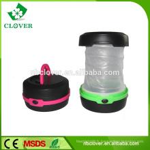 Équipement de camping portable éclairage d'urgence lampe de poche télescopique pliable petite lumière de camping