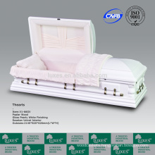 LUXES Oversize Wooden Caskets American Funeral Colors Of Caskets