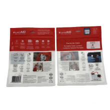 Plastic USB cable packaging bag cable laminated ziplock bags for electronic product packaging bag Custom Printed