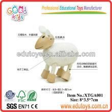 Kids Animal Toys Wooden Sheep