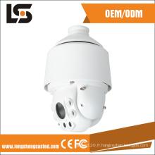 Boîtier de caméra dôme CCTV pour moniteur CCTV de pièce moulée sous pression