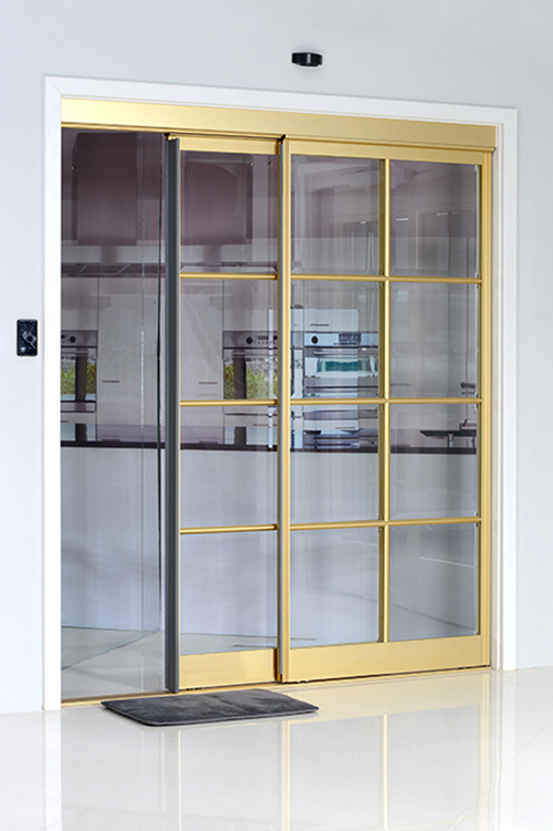 Ningbo GDoor Automatic Sliding Doors with Interactive Door Leaves