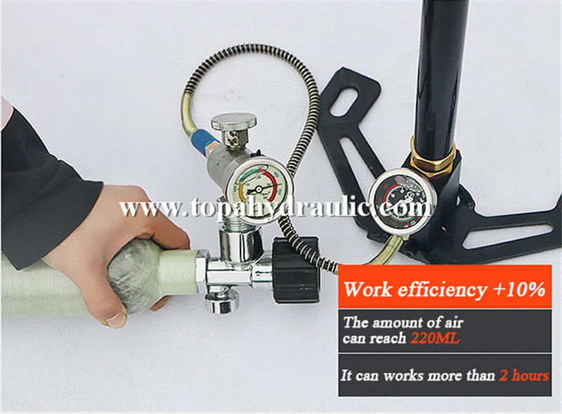 Precharge 4500 psi pcp hand air pump