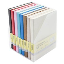 Comix Excellent Fashion A5 122 Sheets Cardboard Cover Thread Bound Notebook Set (8 pcs)