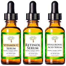 High Natural and Organic Anti Aging Face Serum Full Regimen Vitamin C Serum,Hyaluronic Acid Serum