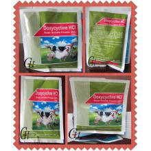 Antibióticos Doxiciclina HCL Polvo soluble en agua 50%
