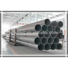 Tubo y tubo de acero al carbono ERW ASTM A53 BS1387