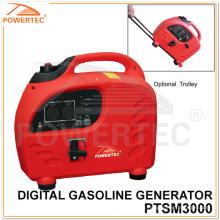 Powertec 4-Stroke 3.6kw generador de gasolina digital (PTSM3000)