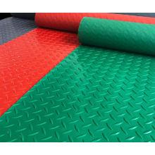PVC anti-fatigue coin embossed flooring mat rolls