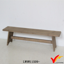 Handmade Wood Antique Long Stool French Furniture Bench