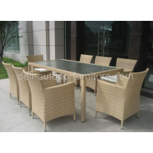 New Style Dining Rectangle Table Chair Set