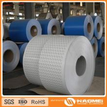 Feuilles revêtues de couleur aluminium