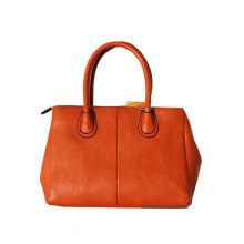 2016 Fashion snake pattern printed DECO flap women leather tote bag
