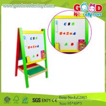 2015 Novos Brinquedos para Crianças Cavalete de Arte de Madeira Colorida